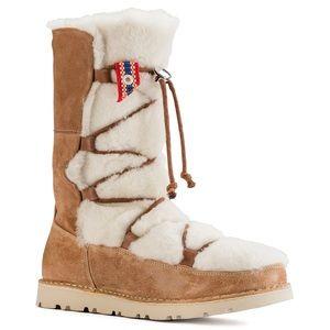 ISO Birkenstock Nuuk Boot in size 38 Shearling